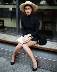 Faces by The Sartorialist: On the Street...University Place, New York