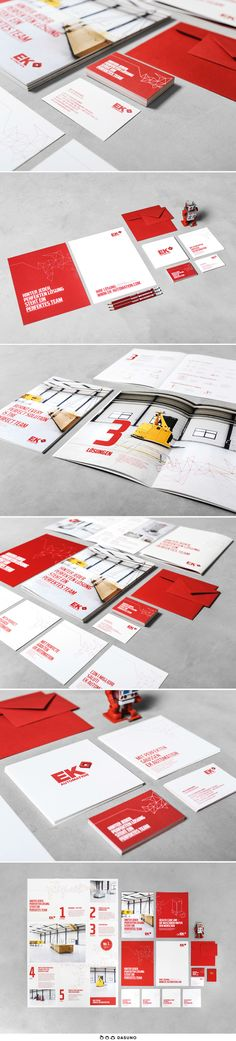 DASUNO // Client: EK Automation // Corporate Design // 2014 Corporate Design, Brand Design, Brand Identity Design