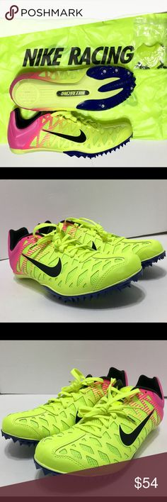 Nike Zoom Maxcat 4 Track Spikes NIKE ZOOM MAXCAT 4 TRACK & FIELD SPIKES  CONDITION: BRAND NEW WITHOUT BOX. WILL COME WITH SPIKES, SPIKE REMOVAL  TOOL, ...