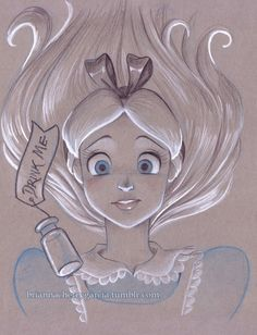 Brianna Garcia's art is seriously incredible and freaking adorable. I wish I could draw as well as her!! :)
