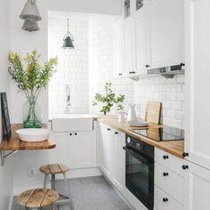 Cozinha Decoração   Minimalista   Escandinavo