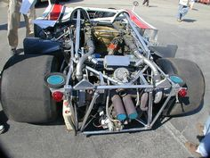 Porsche 917-10 engine/rear