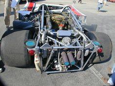 Porsche 917-10 engine/rear