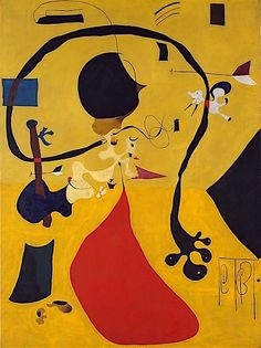 7. Joan Miró - Dutch Interior (III) - 1928