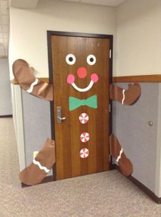 Christmas Classroom Door Decorations are certainly one inseparable portion of the Christmas holidays, without which Christmas would lose all of its co. Christmas Door Decorating Contest, School Door Decorations, Office Christmas Decorations, Homemade Christmas Decorations, Winter Door Decoration, Holiday Decorating, Gingerbread Man Decorations, Desk Decorations, Halloween Door Decorations
