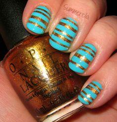 Wonderland Nails #nail #nails #nailart