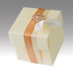 5 Geschenkschachteln  creme von Der Schachtel Shop auf DaWanda.com