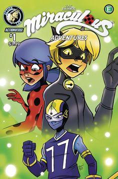 Miraculous Adventures of Ladybug Cat Noir (2017) Issue #1
