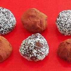 Trufas caseras de Chocolate y Leche condensada | Recetas de Cocina Casera - Recetas fáciles y sencillas