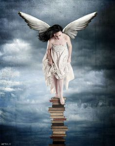 "Beth Conklin's Jump: ""we have to continually be jumping off cliffs and developing our wings on the way down.""  -kurt vonnegut"