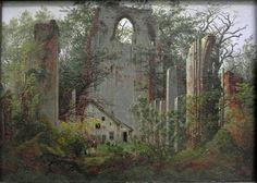 Eldena - Caspar David Friedrich