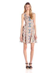 Stitch Fix Karen Kane Carlata Tribal Motif Scuba Dress  Price: $36 - $46 SF Price: $118  Buy it on Amazon for less! http://amzn.to/21k73S2