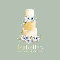 Logo design for Isabelle's cake design