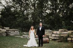 Romantic Candlelit North Dakota Wedding: Brook + Matthew