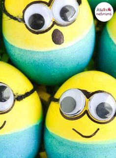 Decorating eggs as your favourite characters. This is a great Easter activity for kids. Here are some genius ways to create really original and unique looking eggs that your children will love.