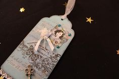Mixed media altered art tag by Crafts4shaw on Etsy https://www.etsy.com/listing/270940604/mixed-media-altered-art-tag