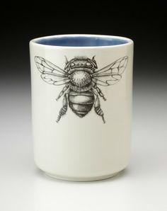 Beautiful  Laura Zindel - honey bee cup