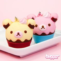 Rilakkuma Squishy Ice Cream Charm - Rilakkuma - Characters | Blippo.com - Japan & Kawaii Shop