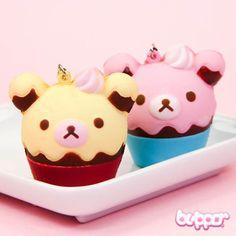 Rilakkuma Squishy Ice Cream Charm - Rilakkuma - Characters | Blippo.com - Japan & Kawaii Shop