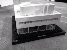 Villa Savoye , first contact with Le Corbusier. Hector 28 jan 2014