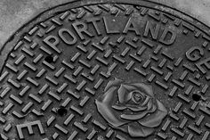 sewer cover- Portland