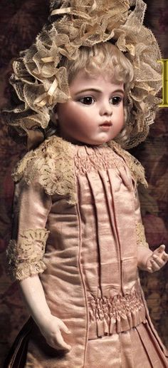 The Bru (French Antique bisque doll)