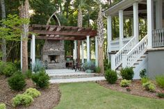 pergola dreams for outside basement doors