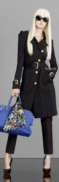 #Versace 2013 Resort. Ve esto y más en el blog de moda del momento.. www.tuguiafashion.com