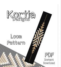 off loom beading techniques Loom Bracelet Patterns, Bead Loom Bracelets, Bead Loom Patterns, Beaded Jewelry Patterns, Beading Patterns, Bead Jewelry, Macrame Bracelets, Knitting Patterns, Embroidery Patterns