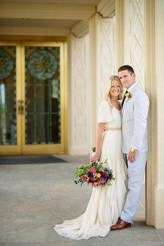 Gilbert Arizona Temple wedding