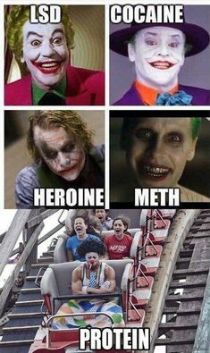 Geek Discover Geek Discover Is this the new Joker everyone is talking about? Is this the new Joker everyone is talking about? Really Funny Memes, Stupid Funny Memes, Funny Relatable Memes, Haha Funny, Funny Cute, 9gag Funny, Hilarious, Funny Marvel Memes, Marvel Jokes