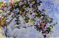 The Rose Bush ~ Claude Monet