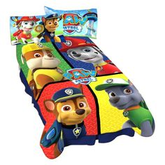 Franco Paw Patrol Saving Our Friends Blanket - A4165