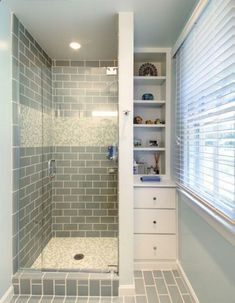 small shower tile ideas the bathroom is one of the most used rooms in your house if your bathroom is drab dingy and outdated then it may be time for a remodel small bathroom shower tile ideas Small Showers, Small Bathroom Showers, Tile Showers, Small Tile Shower, Glass Showers, Corner Shower Tile, Hidden Shower, Small Shower Room, Bathroom Renos