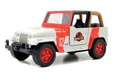 Amazon.com: Jada 24038-W1 Jurassic World 2015 Movie Die Cast Wrangler Jeep: Toys & Games