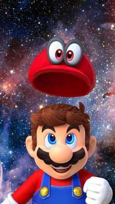 Tagged with wallpaper, space, gaming, mario, creativity; Shared by Super Mario Odyssey Wallpaper Super Mario World, Super Mario Bros, Mundo Super Mario, Super Mario Kunst, Super Mario Games, Super Mario Birthday, Mario Birthday Party, Super Mario Brothers, Mario Party