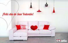 ¿Cómo Celebráis San Valentín?, Hoy es un buen día para sentirse OK. ¡Feliz día de San Valentín a todos!    #sanvalentín #díadelosenamorados #oksofás #estoyok #sofás #sofá#relax #descanso