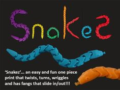Snakez are a super bendy flexible fun print-in-place design. They should be ready to wriggle straight off the build plate (as soon as the raft is removed). No support required and they don't use much filament.  People can't believe he range of movement in these prints. Snakez can be twisted and turned in all directions... even curled up in the palm of your hand. This one piece print will amaze people at what you can do with a 3D printer and clever design.  In addition to being super bendy…