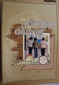 mes 3 drôles de dames - par MilnMicoton sur www.kesi-art.com