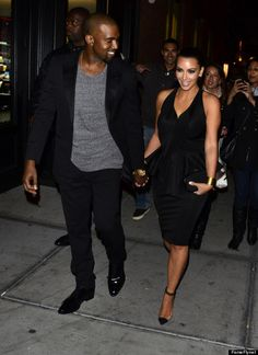 #KimKardashian & #KanyeWest Holding their hands