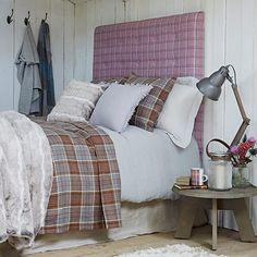 Retiro dormitorio Highland | Ideas de Diseño dormitorio rural | Dormitorio | GALERIA DE FOTOS | Country Homes and Interiors | Housetohome.co ...