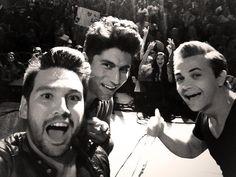 Hunter and Dan + Shay. My three favorite people