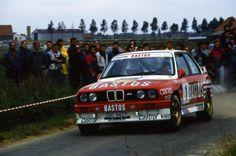 BMW E30 M3 rally car