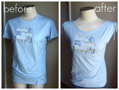 "A ""Too-Big"" T-shirt Transformation"