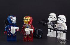 We found the Droids! by InkBlot. Rhodes: Who's he calling a droid. Tony: Smack em