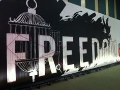 Freedom wall from the Miami event
