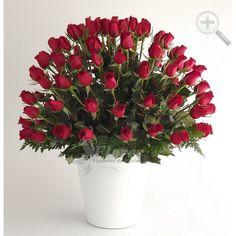 Floreria - Flores Elegantes de Mexico - 100 rosas rojas