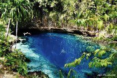 La rivière enchantée. Hinatuan, Philippines. 10 piscines naturelles