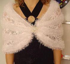 Best Wedding Shawls Images – Knitting And We Knitted Shawls, Crochet Shawl, Shawl Patterns, Knitting Patterns, Crochet Wedding Dress Pattern, Diy Crafts Knitting, 168, Bridal Cover Up, Bridal Bolero