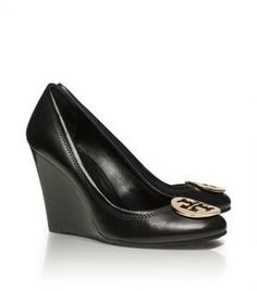 Tory Burch shoes - sophie WEDGE love these!